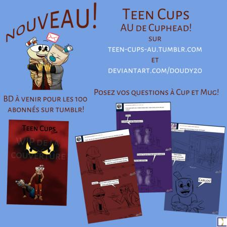 Nouveau! Teen Cups fr